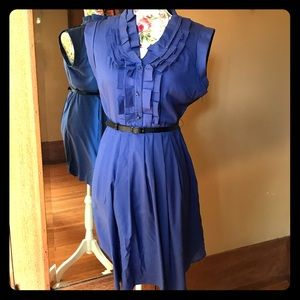 Ted Baker cobalt blue dress